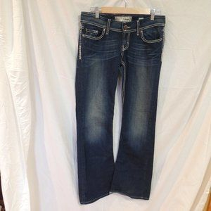 Buckle BKE SABRINA Boot Cut Denim Jeans Womens 28